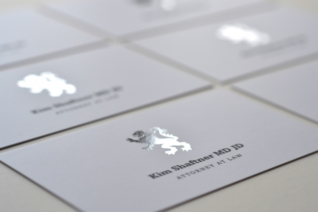 Foil business cards vast raleigh logo design marketing foil business card design foil cards are amazing reheart Gallery