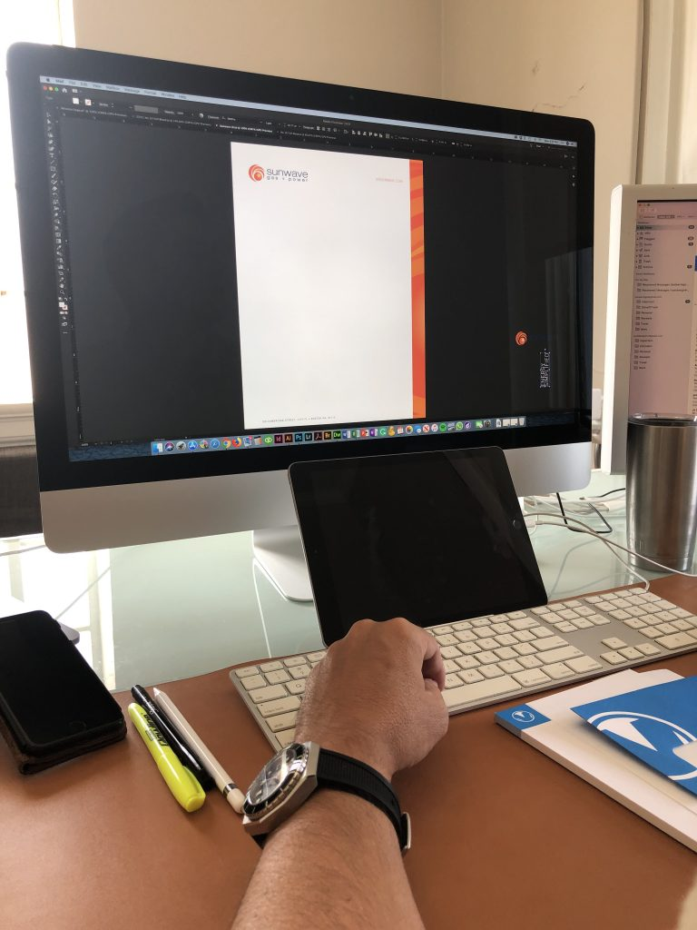 Full Color Envelope and Letterhead Design